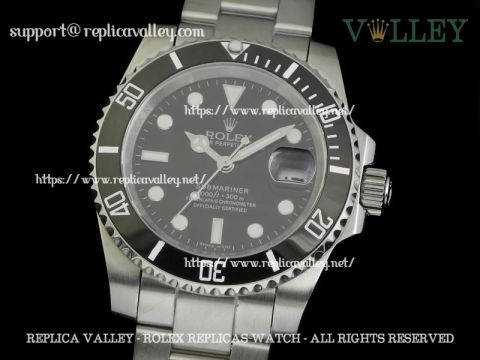 S101 Rolex Submariner 116610 Black Dial